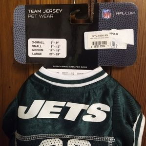 NFL Other - DOG JETS JERSEY - NFL Football - XS - Puppy sports